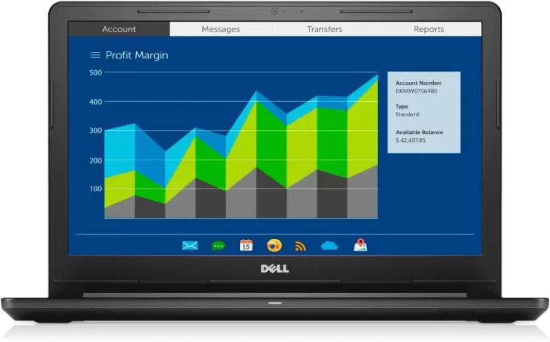 Dell Vostro 3000 Core i5 7th Gen - (8 GB/1 TB HDD/Linux/2 GB Graphics) 3568 Notebook
