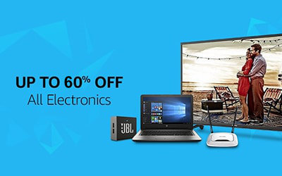 All Electronics Upto 50% off